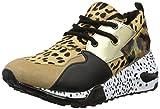 Steve Madden Cliff Sneaker, Zapatillas Altas Mujer, Multicolor (Animal 911), 36 EU