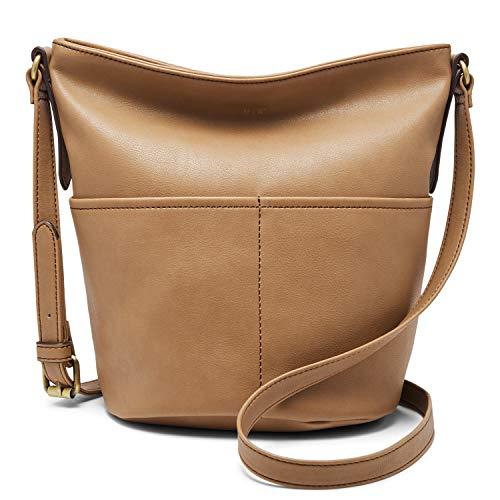 Relic by Fossil Women's Sofia Bucket Crossbody Handbag, Color: Camel Model: (RLH9010235)