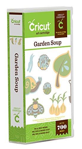 Cricut Garden Soup Card Making Cartridge