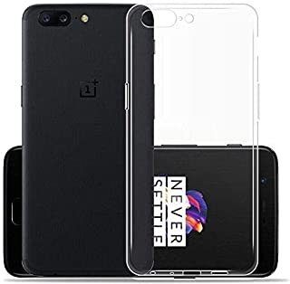 Oneplus 5T Ultra Thin 0.75mm TPU Back Protective Case - Clear