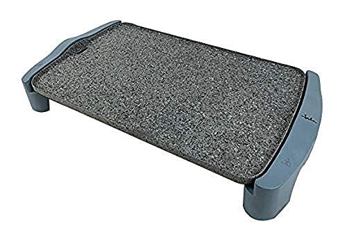 Jata GR600AM Plancha de asar, 2500 W, Granite, Gris y azul [Exclusiva Amazon]