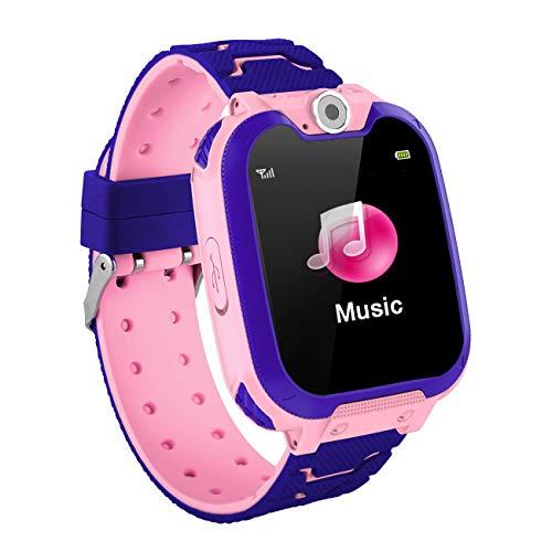 Elviray Kids Smart Watch Game Smart Watch per Bambini Girls Boys Touch Screen SOS Regali di Compleanno con Fotocamera Digitale