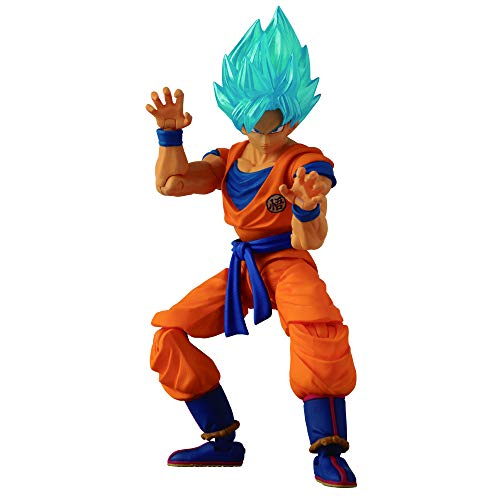 Dragon Ball Super - Figura de acción Evolve - Super Saiyan Blue Goku