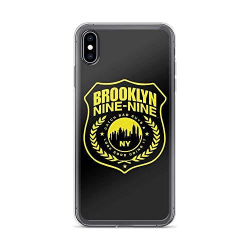 NGNHMFD Brooklyn 189 Police Symbol Fan Art Comedy Detective Sitcom Compatible con iPhone 11 Pro MAX 12 Pro MAX Mini SE 2020 6/6s 7/8 Plus X XS XR Samsung Galaxy Funda Protectora de TPU