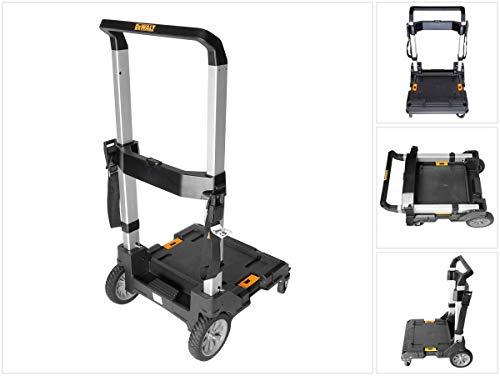 Dewalt Tstak Trolley (Mobilit?t f?r Tstak Boxen, Belastbarkeit bis 100 kg, klappbar) DWST1-71196