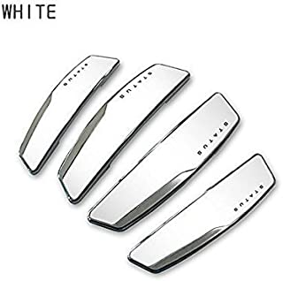 Guance Status Car Door Guard and Scratch Protector Universal for Car (White)