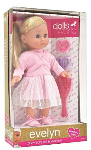 Dolls World 8844 Puppe, rosa