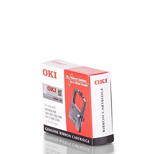 OKI Farbband 09002309, für ML-380/385 / 390/391 / 3390/3391, Nylon schwarz