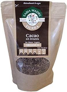 CACAO TROZOS ORGANICO 250GR