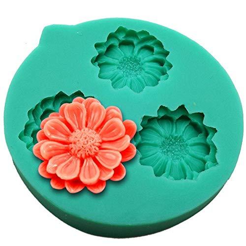 DACCU DIY siliconen vormen voor het decoreren van taarten vorm fondant mini bloem vorm suiker chocolade zoetwaren vlokken zeep vorm F0418HM30