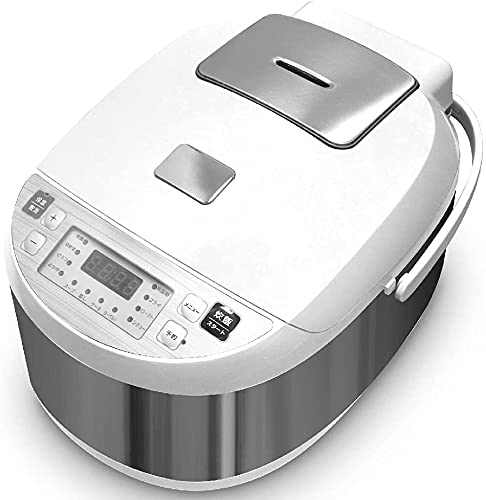 Wellz 炊飯器 5.5合 自動保温 マイコン タイマー 多機能12種メニュー 炊飯ジャー メーカー1年保証