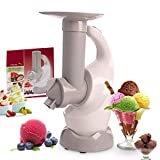 WJDOZ Helado Helado Maker Postre Fruit Fruit Máquina de Helado, DIY Cocina DIY Mini Mini Congelado Yogurt Maker Sorbet Maker Máquina para niños Adultos