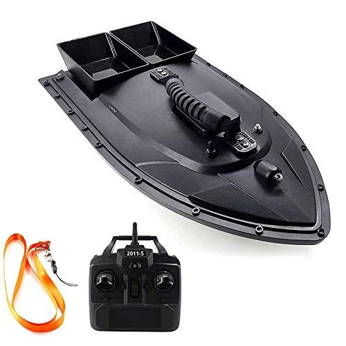 QYLT Barco de Cebo de Pesca, Barco RC, Control Remoto de 500 m, Carga de 1.5 kg, buscador de Peces con Motor Doble, Accesorios de Barco de Pesca, Regalos de Pesca para Hombres