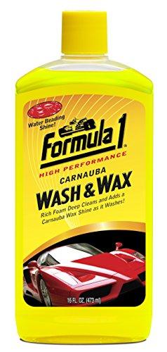 Formula 1 615016 Carnauba Wash and Wax Shampoo (473 ml)