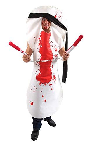 ORION COSTUMES Ninja Damenbinde & Tampons Karneval Fasching Verkleidung Kostüm