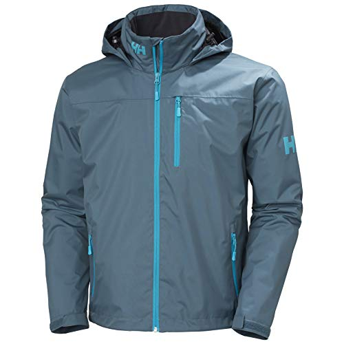 Helly Hansen Crew Hooded Midlayer Jacket, Chaquetas Hombre, Orion Blue, Mittel