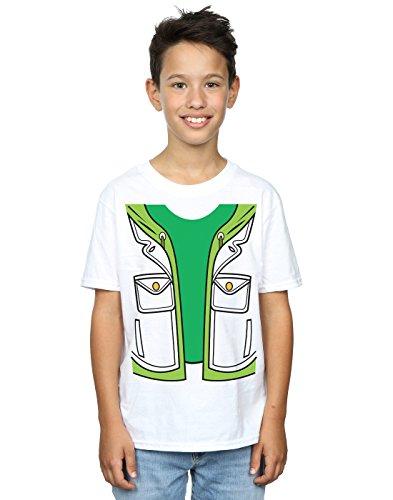 Big Bang Theory Boys Leonard Hofstadter Costume T-Shirt 9-11 Years White