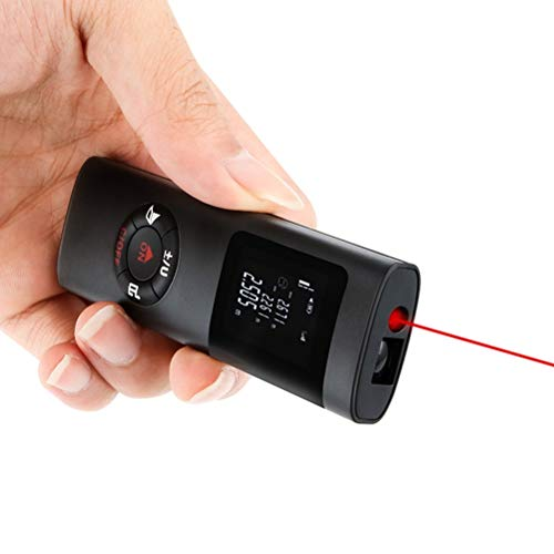 Release 2020 Nueva actualización Mini telémetro láser 40M medidor de Distancia láser Cinta láser Profesional Ruleta Medida Metro telémetro