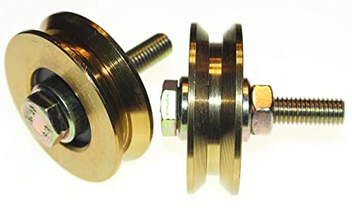 LASANA SMART MACHINES GiniHomer V58-10, Oro, 58 mm Diameter-10 mm Shaft