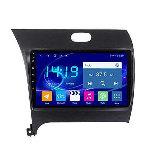 Dscam Car Stereo Android 9.1 Car Stereo GPS Navigation para Kia K3 2013-2015 Pantalla Táctil De 9 Pulgadas Soporte WiFi 4.0 Bluetooth Control del Volante