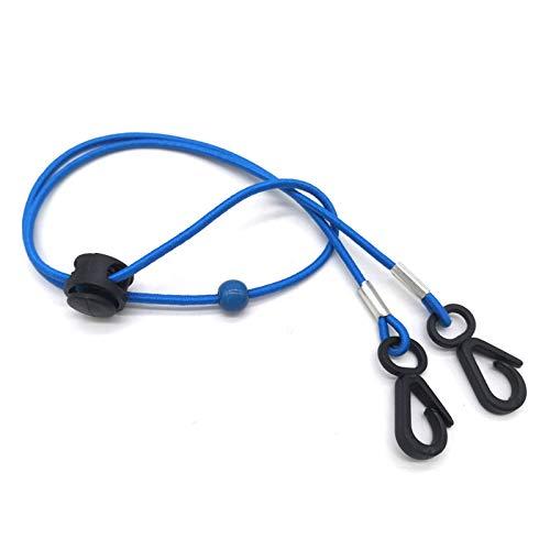 Lanyards Cuerda colgante cordón titular ajustable oído colgante cuerda con dos ganchos accesorios