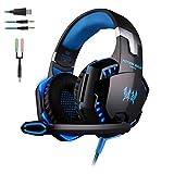 Gaming Headset für PS4 EACH G2000 Over Ear Kopfhörer PC