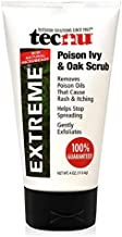 Tecnu Extreme Poison Ivy and Oak Scrub, Removes Poisonous Plant Oils That Cause Rash and Itching, 4 Ounces