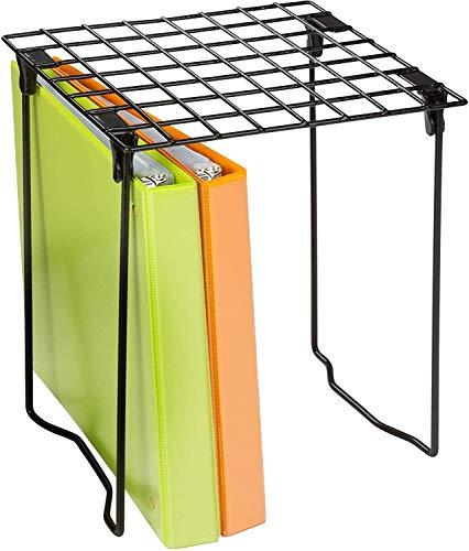 Honey-Can-Do Collapsible Locker Shelf, Black, 10 lbs