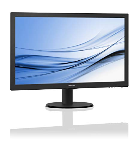 Philips 223V5LHSB2 - 22 Zoll FHD Monitor, FlickerFree (1920x1080, 60 Hz, VGA, HDMI) schwarz