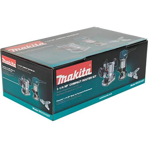 Makita RT0701CX7 1-1/4 HP Compact Router Kit