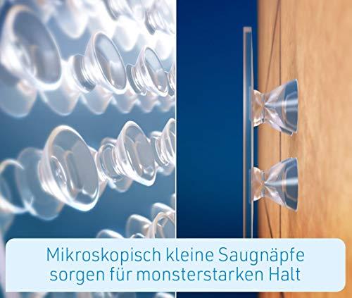 Mediashop Hammersmith Monster Tape, Nano-Grip-Technologie - Mikroskopisch kleine Saugnäpfe Sorgen für monsterstarken Halt, wiederverwendbar, Wasser- und wetterfest, funktioniert ohne Klebstoff - 7