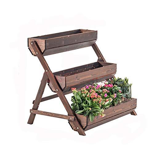 YANGXIN Square Planting Container Handle Rectangle Grow Bag Outdoor Garden Felt Plant Pot Flowers Vegetables