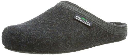 Stegmann Unisex-Erwachsene 127 Pantoffeln, Grau (Graphit 8801), 36 EU