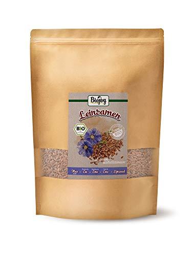 Biojoy BIO-Leinsamen, braun & ganz (1,5 kg)