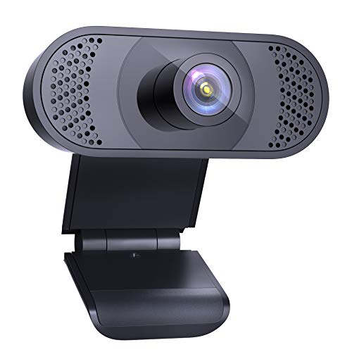 Wansview Webcam PC 1080P con Micrófono, Webcam Portátil para PC, Webcam USB 2.0, Streaming Cámara Reducción de Ruido para...