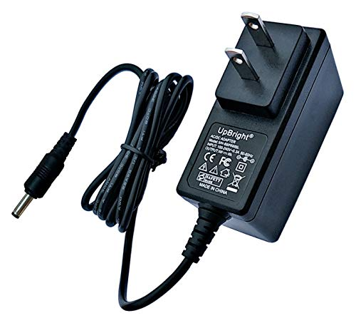 UpBright 12V AC/DC Adapter Replacement for Zebra Mobile Bluetooth Printer MZ 220 MZ 320 iMZ220 iMZ320 Pari Trek S Compressor P47F45 047F35 Brookstone Pocket Projector 801143 864129 Ingenico AL10105A