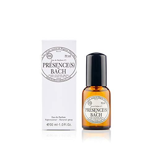 Elixirs & Co - Eau de Parfum aux Fleurs de Bach - Bio - Présence(s) - Bien-être - Parfum Frais et Fleuri - Verveine Pin et Pommier Sauvage - Made in France - 30ml