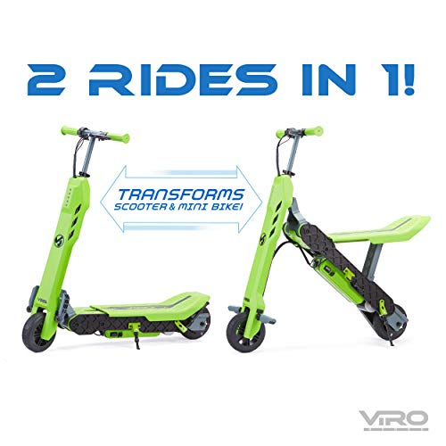 VIRO Rides Vega 2-in-1 Transforming Electric Scooter