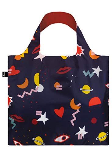 LOQI LOQI Celeste Wallaert Night Night Bag Travel Tote, 50 cm, Multicolour (Night)