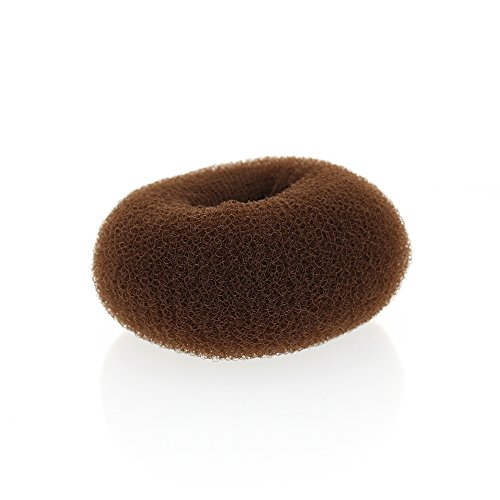 Boudin pour chignon, diamètre 14cm Marron Beautélive
