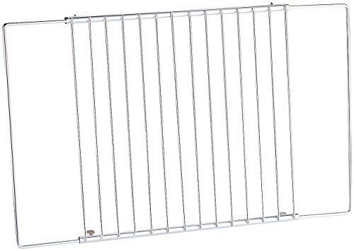 Rosenstein & Söhne Universal-Backofenrost: Universal Gitter/-einlegeboden, für Kühlschrank/Gefrierfach (Backofen Grillrost)