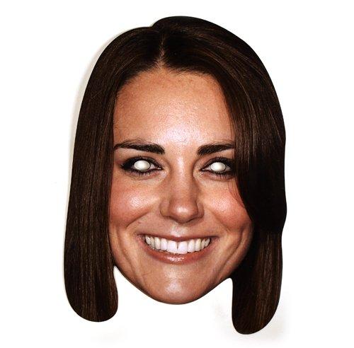 Partyrama Kate Middleton célébrité Carton Masque – Single