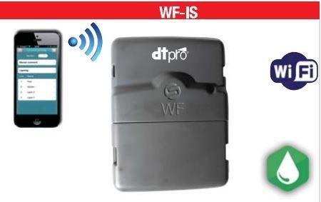 Solem - Programador de riego WF con wifi, 6 estaciones - IP68