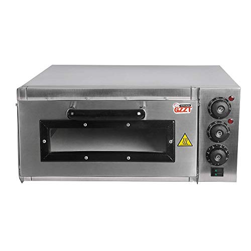 GZZT KITCHEN Stainless Steel Electric Pizza And Cake Oven