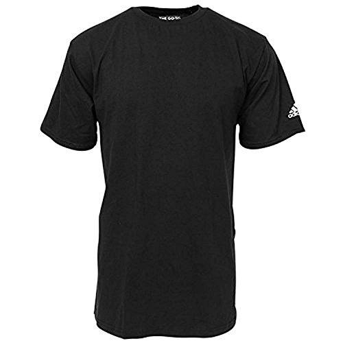 adidas Short Sleeve Logo Regular Fit T-Shirt (3720) S/Black