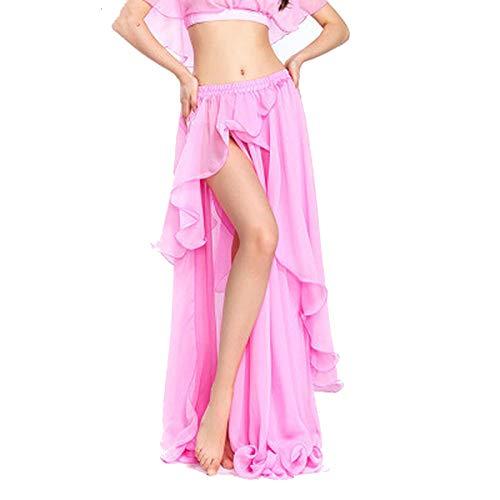 my cat Vestido sexy de gasa para mujer de danza del vientre, vestido de bailarina, color 11