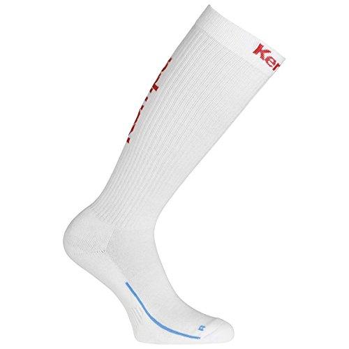 Kempa Lang-200354502 - Calze da uomo, Uomo, calze da uomo, 200354502, bianco/rosso, 41-45 (L)