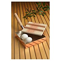 ◇雑貨 生活日用品◇本職用玉子焼き18cm(木蓋付) (銅製品) CNE-117