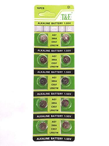 AG7 LR927 Alkaline Button Cell Battery