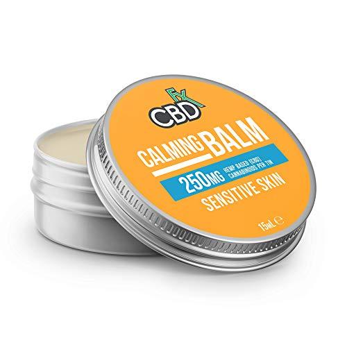 CBDfx Calming CBD Balm 15ml - 250mg CBD Oil with Added Chamomile, and Tea Tree Oil